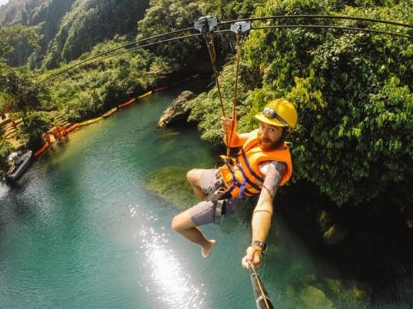 Dark cave - Zipline - Paradise cave - Phong Nha Ke Bang Daily Tours